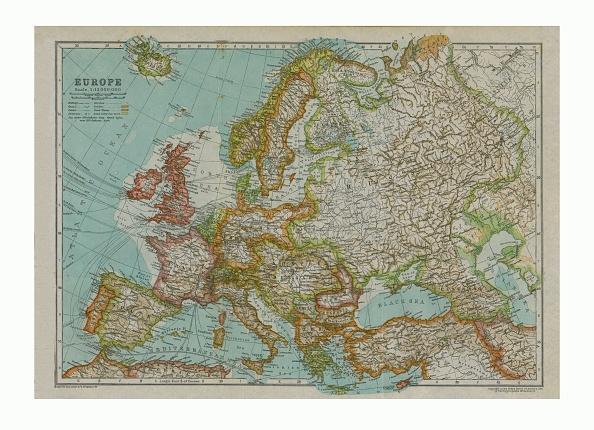 Arctic Ocean「Map Of Europe」:写真・画像(11)[壁紙.com]