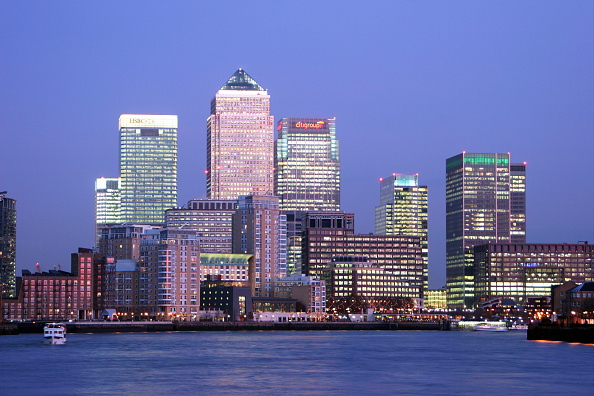 Urban Skyline「Canary Wharf, Docklands area. London, United Kingdom.」:写真・画像(0)[壁紙.com]