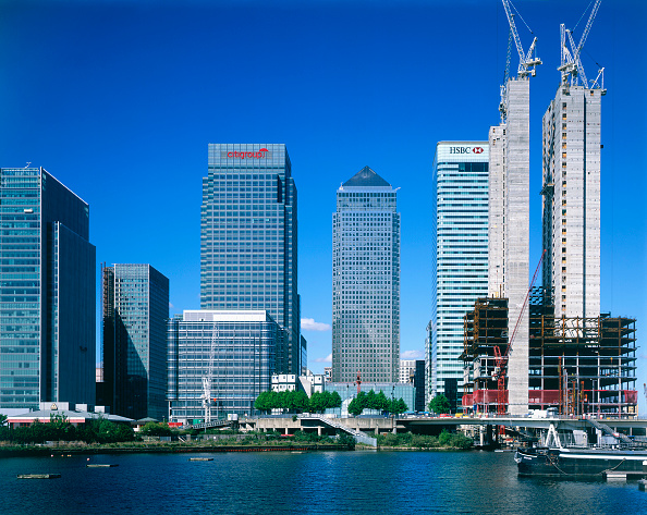 Urban Skyline「Canary Wharf  Docklands area. London  United Kingdom.」:写真・画像(7)[壁紙.com]