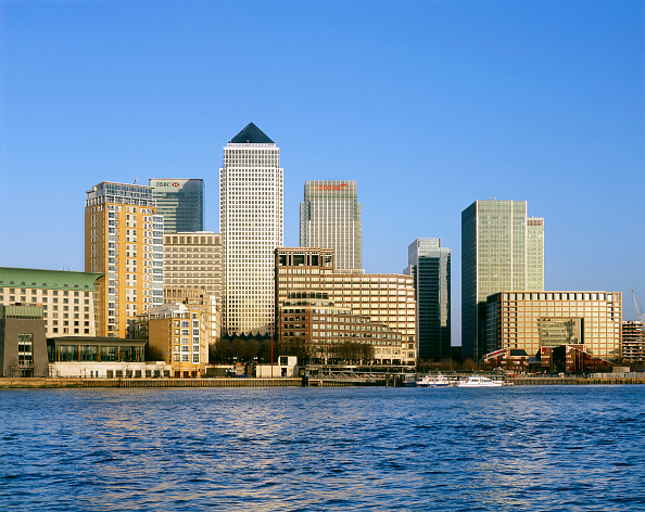 Urban Skyline「Canary Wharf  Docklands area. London  United Kingdom.」:写真・画像(11)[壁紙.com]