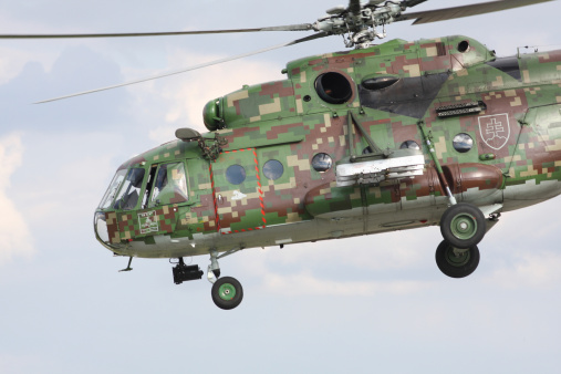 ミリタリー「Slovak Air Force Mi-17 Hip in new digital camouflage, Hradec Kralove, Czech Republic.」:スマホ壁紙(15)