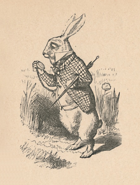 Fairy Tale「The White Rabbit With A Watch, 1889」:写真・画像(10)[壁紙.com]