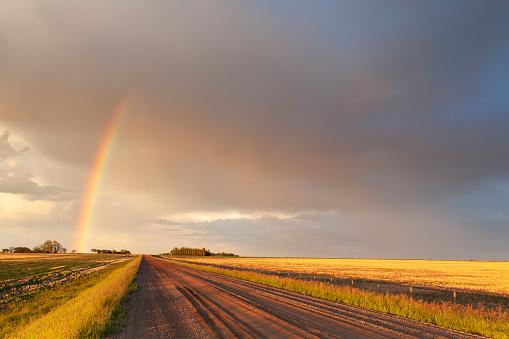 Rainbow「Saskatchewan Canada Storm Chasing」:スマホ壁紙(7)