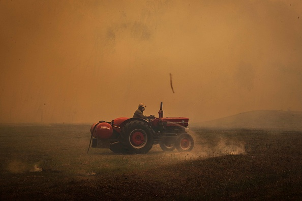 Weather「Gospers Mountain Fire At Emergency Level As Heatwave Continues」:写真・画像(11)[壁紙.com]