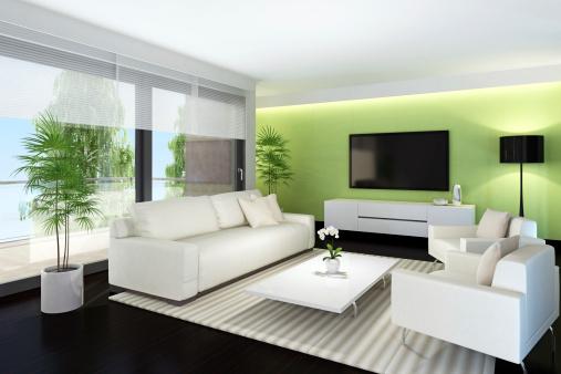 Television Industry「Modern TV Room」:スマホ壁紙(15)