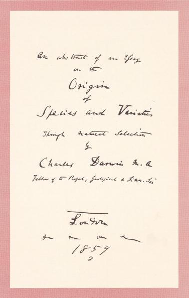 Development「'Origin of Species' Title Page Prospectus」:写真・画像(11)[壁紙.com]
