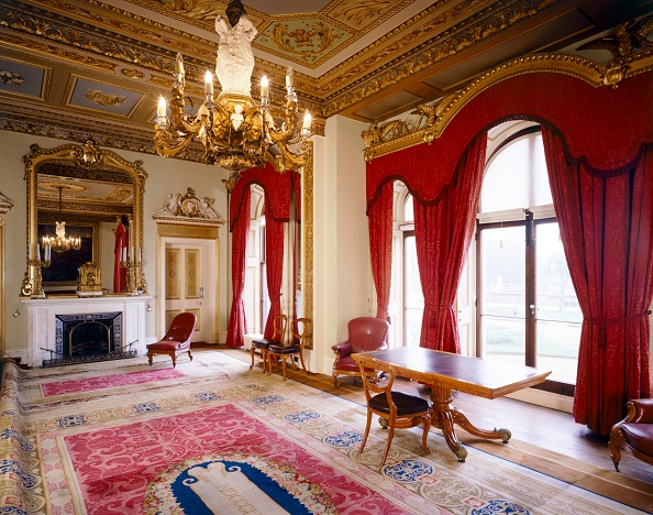 Curtain「Osborne House, Council Room, c1990-2010」:写真・画像(13)[壁紙.com]