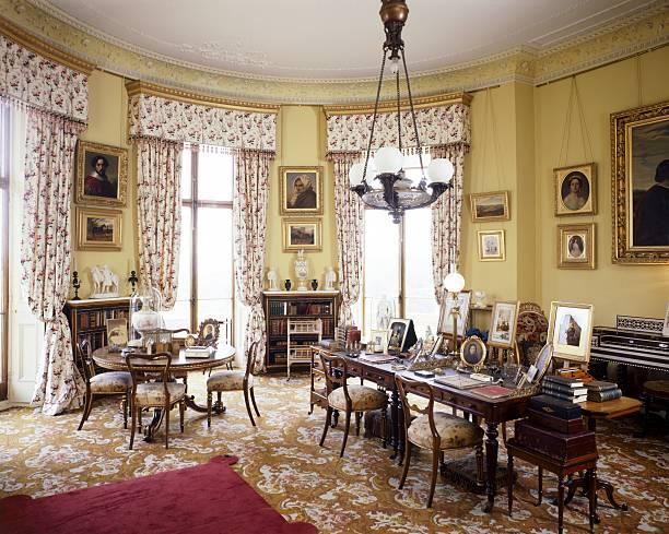 Queen Victoria's Sitting Room, Osborne House, c1990-2010:ニュース(壁紙.com)