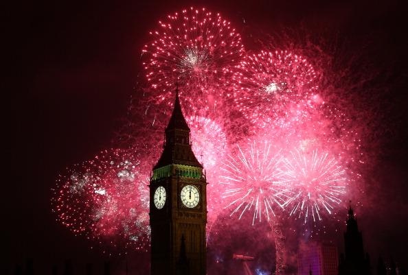 Urban Skyline「London Celebrates New Year's Eve」:写真・画像(13)[壁紙.com]
