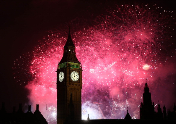 Urban Skyline「London Celebrates New Year's Eve」:写真・画像(8)[壁紙.com]