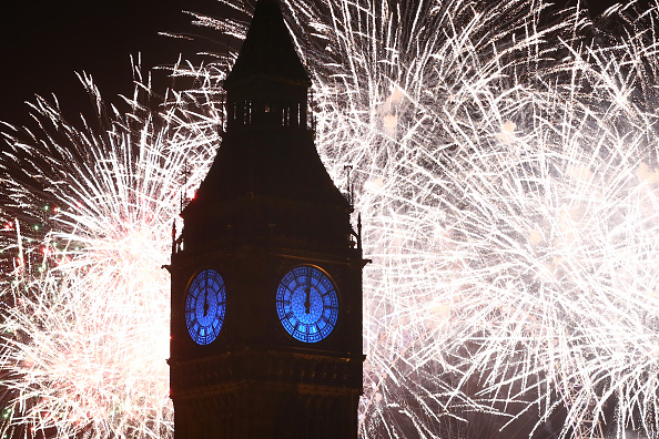 International Landmark「London Celebrates The New Year」:写真・画像(12)[壁紙.com]