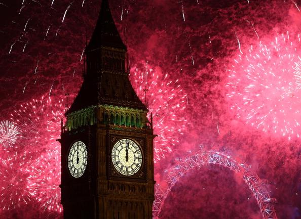 Urban Skyline「London Celebrates New Year's Eve」:写真・画像(16)[壁紙.com]