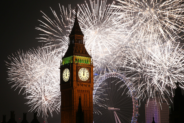 英国 ロンドン「The New Year Is Celebrated In London」:写真・画像(16)[壁紙.com]