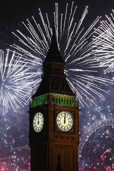 Urban Skyline「The New Year Is Celebrated In London With A Firework Display」:写真・画像(9)[壁紙.com]