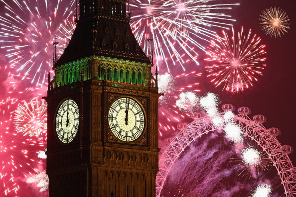 Urban Skyline「The New Year Is Celebrated In London With A Firework Display」:写真・画像(8)[壁紙.com]