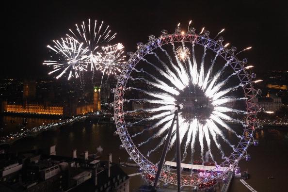 Urban Skyline「London Celebrates New Year's Eve」:写真・画像(11)[壁紙.com]