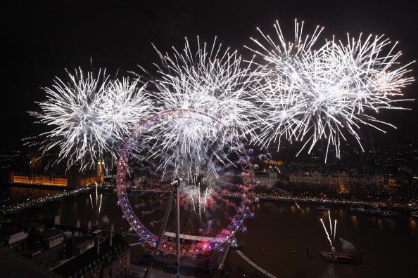 Urban Skyline「London Celebrates New Year's Eve」:写真・画像(12)[壁紙.com]