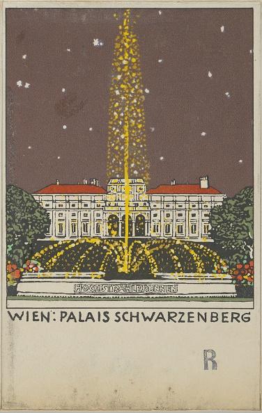 Chromolithograph「Vienna: Palais Schwarzenberg」:写真・画像(9)[壁紙.com]