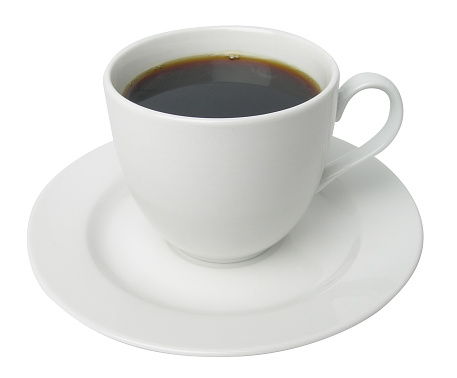 ソーサー「コーヒーカップ、クリッピングパス」:スマホ壁紙(3)