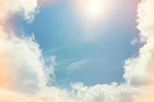 Fantasy「opening in clouds」:スマホ壁紙(17)