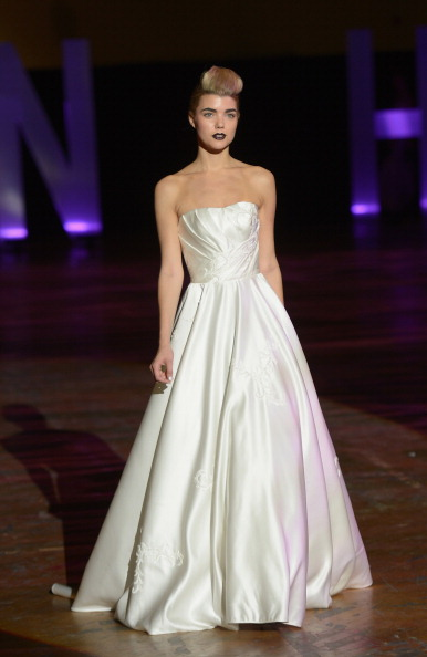 Strapless Evening Gown「3rd Annual United Colors Of Fashion Gala」:写真・画像(4)[壁紙.com]