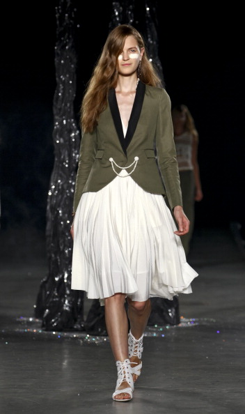 Spring Collection「Boy And Girl By Band Of Outsiders - Runway - Spring 2013 Mercedes-Benz Fashion Week」:写真・画像(13)[壁紙.com]
