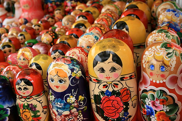 Matryoshka dolls:スマホ壁紙(壁紙.com)