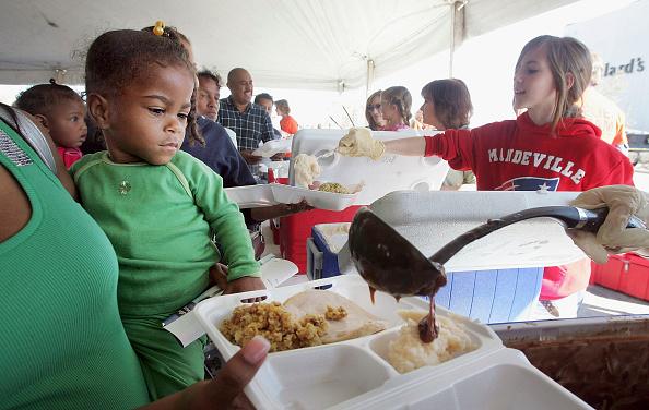 Condiment「Remaining New Orleans Residents Celebrate Thanksgiving」:写真・画像(16)[壁紙.com]