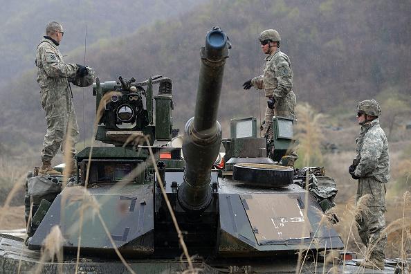 韓国「Tensions Remain High Near the Korean Border」:写真・画像(6)[壁紙.com]