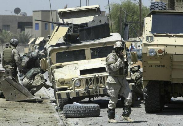 Baghdad「U.S. Military Convoy Targeted In Baghdad」:写真・画像(0)[壁紙.com]