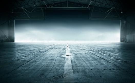 Concrete「Airport Hanger」:スマホ壁紙(1)