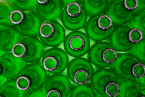 Recycling「Green Bottles Washed For Glass Recycling」:スマホ壁紙(19)