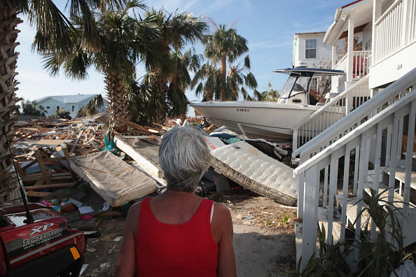 Rubble「Recovery Efforts Continue In Hurricane-Ravaged Florida Panhandle」:写真・画像(2)[壁紙.com]
