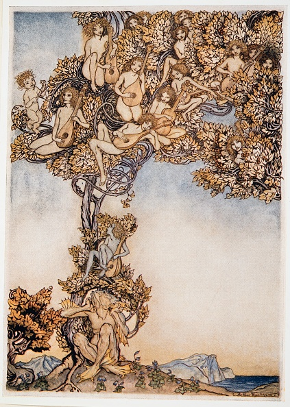 Chromolithograph「Sometimes A Thousand Twangling Instruments Will Hum About Mine Ears」:写真・画像(12)[壁紙.com]