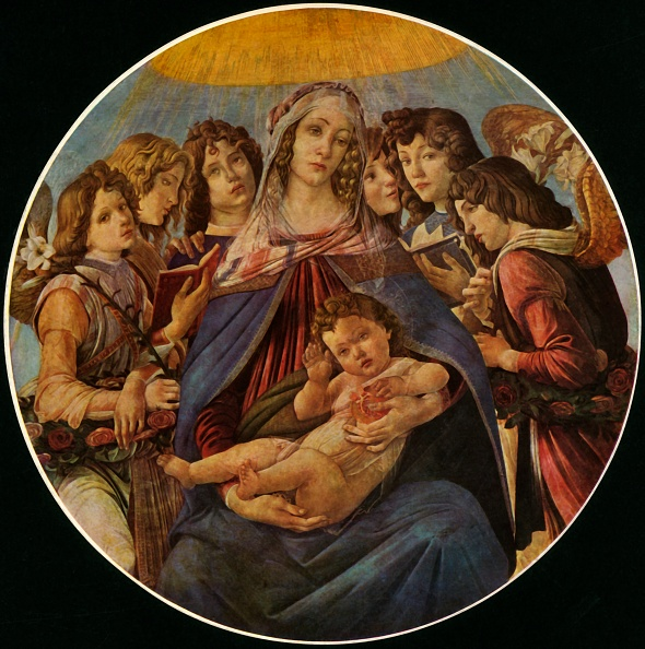 Virgin Mary「Madonna Of The Pomegranate」:写真・画像(1)[壁紙.com]