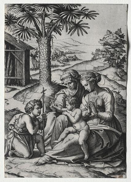 30-34 Years「Madonna Of The Palm Tree. Creator: Marcantonio Raimondi (Italian」:写真・画像(14)[壁紙.com]