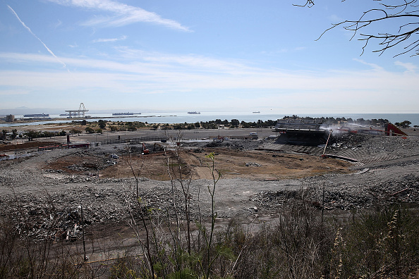 NFC West「Demolition Of San Francisco's Candlestick Park Enters Final Phase」:写真・画像(6)[壁紙.com]