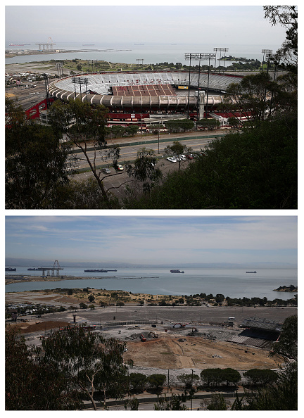 NFC West「Demolition Of San Francisco's Candlestick Park Enters Final Phase」:写真・画像(4)[壁紙.com]