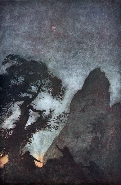 Lithograph「The Three Norns' 1924」:写真・画像(3)[壁紙.com]