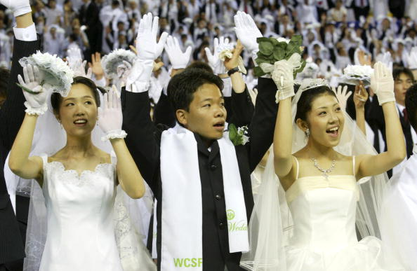 Black Color「4,600 Couples Gather For Blessing Ceremony」:写真・画像(0)[壁紙.com]