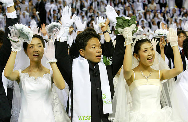 4,600 Couples Gather For Blessing Ceremony:ニュース(壁紙.com)