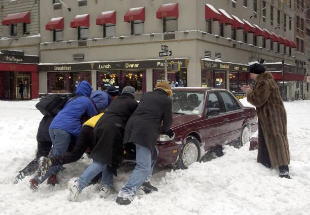 Winter Storm Hits East Coast:ニュース(壁紙.com)