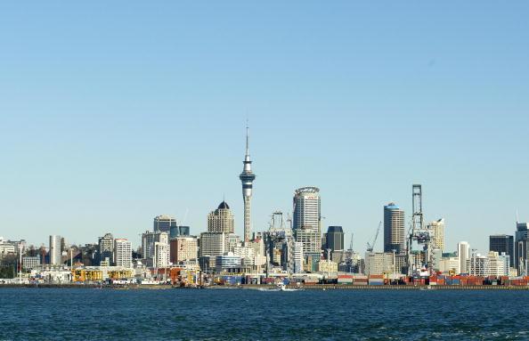 風景「A View from the Auckland Harbour looking back onto」:写真・画像(16)[壁紙.com]