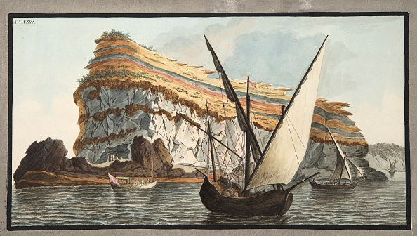 Hand Colored「View From The Sea Of The Promontory」:写真・画像(11)[壁紙.com]