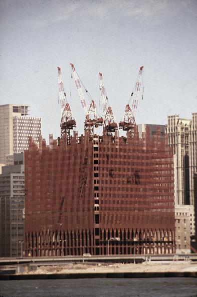 Construction Industry「World Trade Center Under Construction」:写真・画像(19)[壁紙.com]