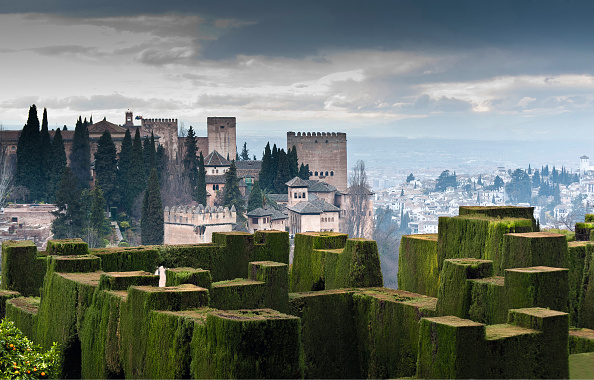 Alhambra - Spain「Gardens Of The Generalife And The Alhambra」:写真・画像(6)[壁紙.com]