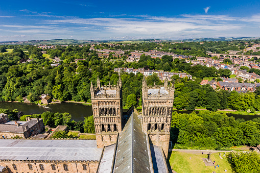 Cathedral「View from the top of the Durham Cathedral」:スマホ壁紙(12)