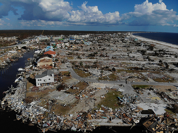 Damaged「Recovery Efforts Continue In Hurricane-Ravaged Florida Panhandle」:写真・画像(8)[壁紙.com]