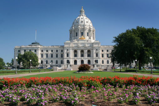 Legislation「Minnesota Capitol Garden View」:スマホ壁紙(8)