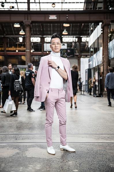 Men「Street Style - Mercedes-Benz Fashion Week Australia 2017」:写真・画像(17)[壁紙.com]